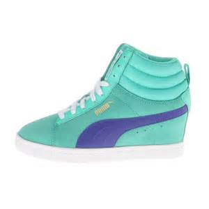 Puma Wedge Tennis Shoes