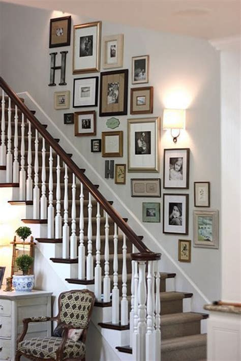 Decorating Ideas For The Walls by 40 Must Try Stair Wall Decoration Ideas