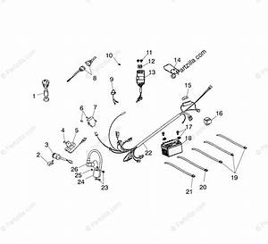 Polaris Atv 2003 Oem Parts Diagram For Electrical Parts