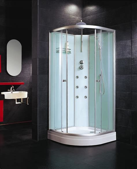Shower Pod by Shower Pod All In One Enclosure With Jets Mixer Diverter