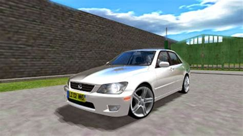 lexus hatchback modded lexus is 300 1 3 simulator games mods download