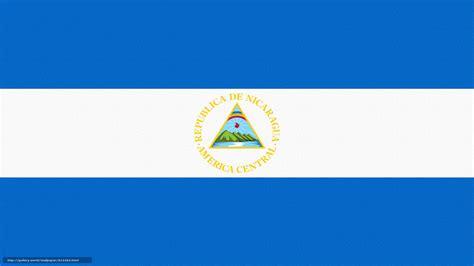 Descargar gratis Nicaragua, bandera, escudo de armas ...