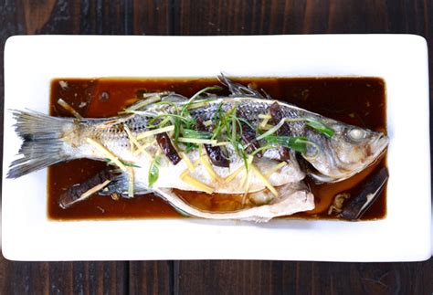 chinese  year recipe steamed rock fish  ginger