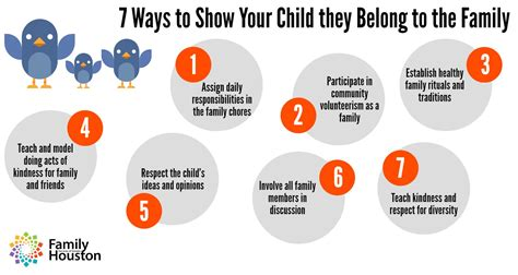 7 Ways To Show Your Child They Belong To The Family