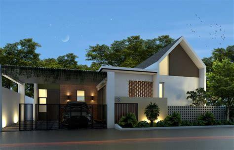 variasi atap rumah minimalis  kreatif sekaligus cantik