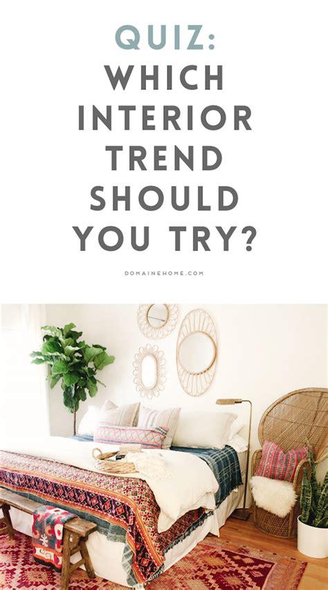 quiz  top interior trend