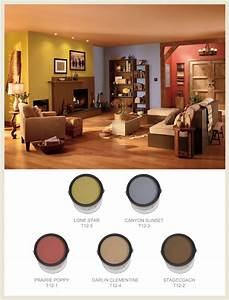 Colorfully, BEHR :: Western Style Decor