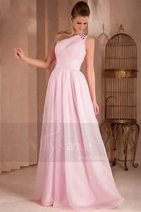 robe de soiree desiree longue rose pale en mousseline With robe rose pale longue