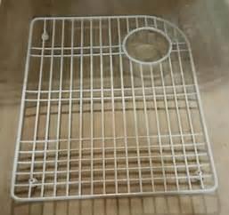 kohler executive chef sink rack 6001 0 white ebay