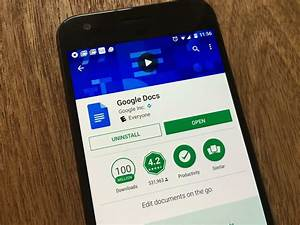 Google Docs  Sheets  And Slides For Android Now Let You