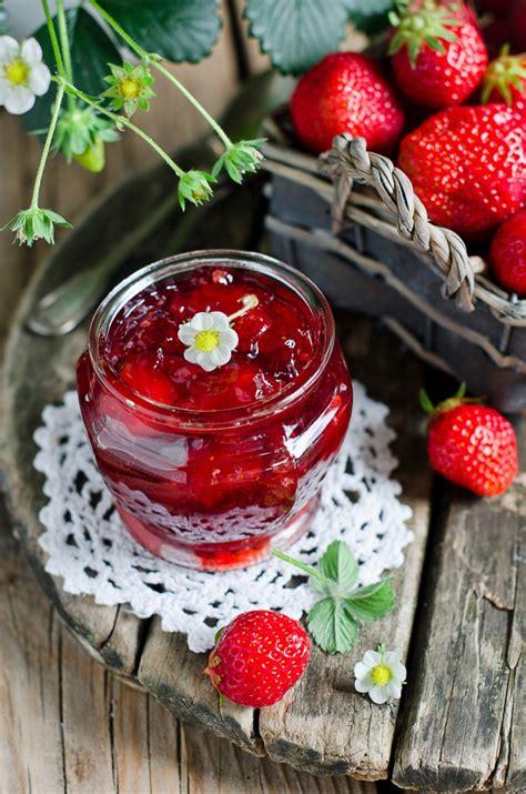 fraise confiture fresa ostruzione strawberry rhubarb jam albicocca dell atasco mrs wages recipe fresca immagine fragola archivo