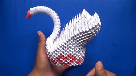 baixar de video de cisne origami 3d