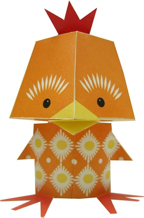 adorable printable papercraft animals fun  easy