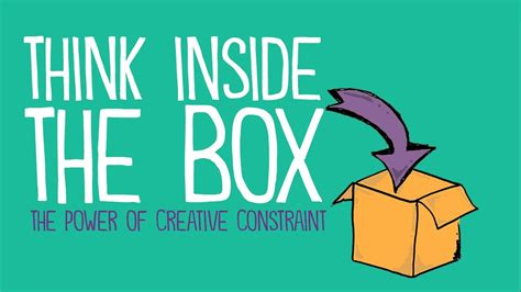 Think Inside The Box by Think Inside The Box The Power Of Creative Constraint