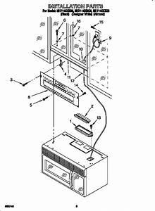 Wiring Diagram Whirlpool Microwave Over Range