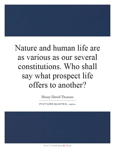 Nature And Human Life Quotes