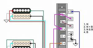 Hermetico Guitar  Wiring Diagram  Tele Hh 4
