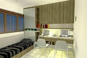 Interior, Design, Small, Bedroom, Interior, Design
