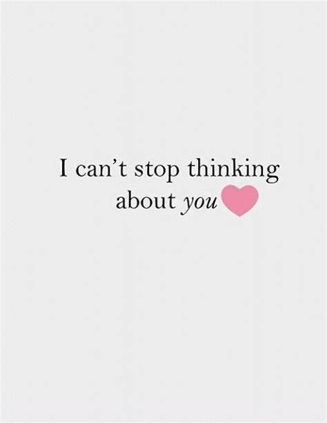 Thinking About You Baby Quotes