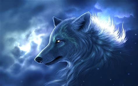 Blue And Purple Wolf Wallpaper by Wolf Wallpaper 61 Images