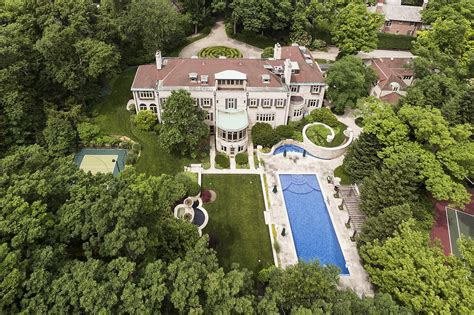 georgian style mansion  glencoe  chicago