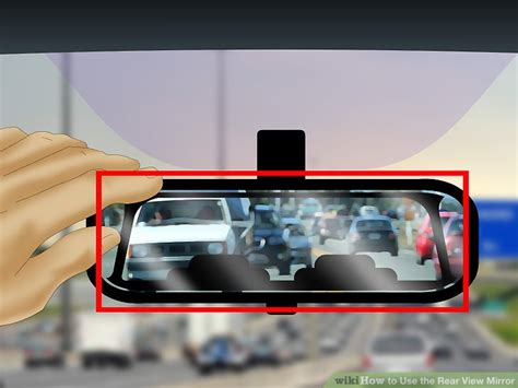 How To Use The Rear View Mirror