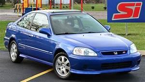 2000 Honda Civic Si Driving And Walkaround