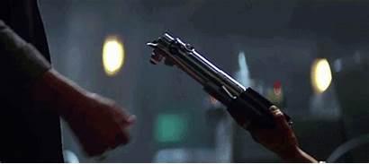 Wars Star Force Awakens Gifs Skywalker Lightsaber