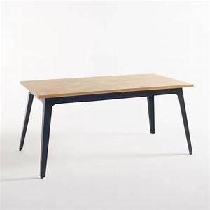 Table Bois La Redoute : table 2 allonges 6 8 couverts daffo bois clair la redoute interieurs la redoute ~ Melissatoandfro.com Idées de Décoration