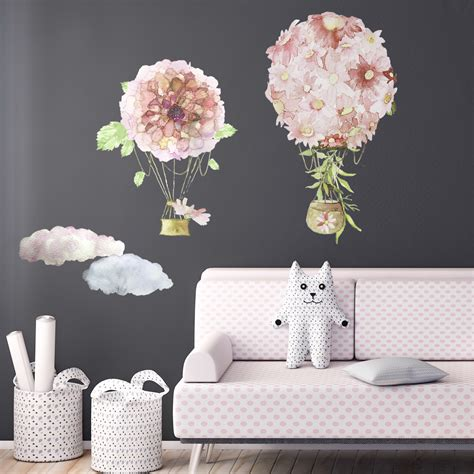 Product Of The Week A Beautiful Space Themed Set Made Of Wood Magnets by Air Balloon Removable Wall Sticker Buy Or