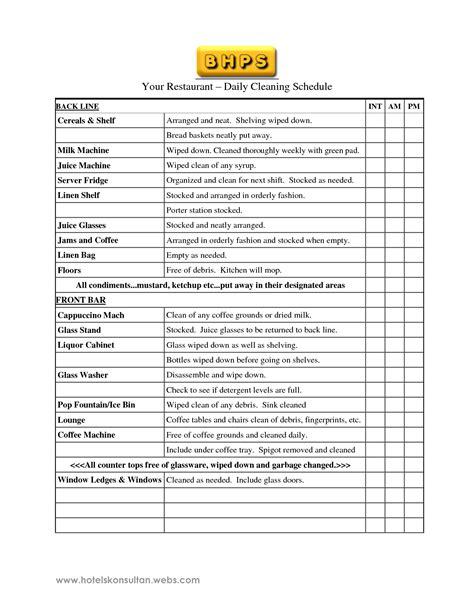 home design checklist restaurant kitchen cleaning checklist bjyoho com