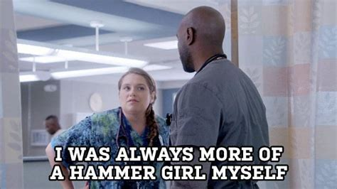 Nurse Jackie Memes - nurse jackie can t keep a good zoey down previously tv