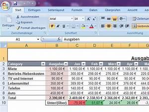 Budget Rechnung : haushaltsbudget ~ Themetempest.com Abrechnung