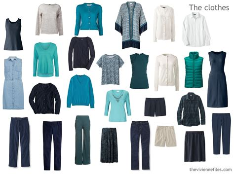 capsule wardrobe 12 months 12 in a navy based capsule wardrobe an evaluation the vivienne files