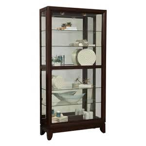 pulaski furniture d022009 two way sliding door curio atg