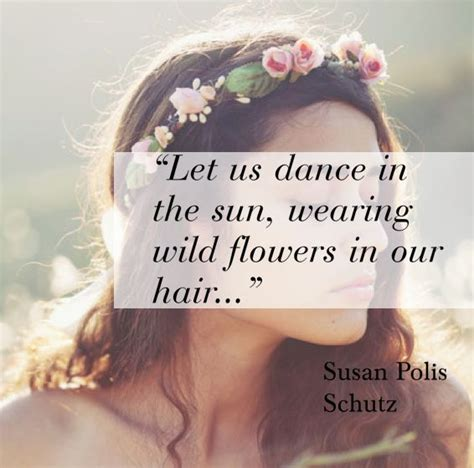 Quotes About Flowers In Hair