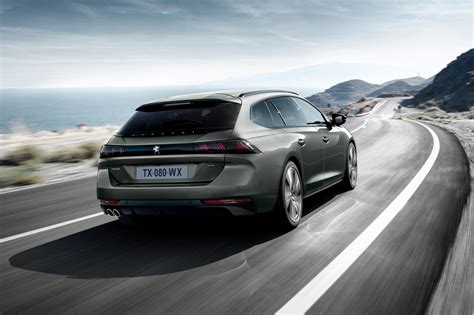 Peugeot News by Gallic Space Race New Peugeot 508 Sw Revealed At