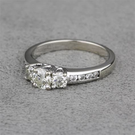 Preowned White Gold Diamond Engagement Ring. Wedding Indian Wedding Rings. Mauve Diamond Wedding Rings. Mini Engagement Rings. Tray Wedding Rings. Double Milgrain Engagement Rings. Woman 2013 Gold Wedding Rings. Blue Diamond Rings. Hummingbird Engagement Rings