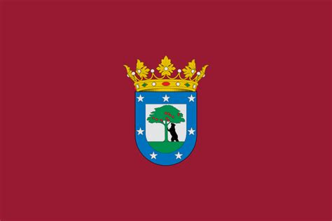 Flag Of Madrid (city) Spain.svg