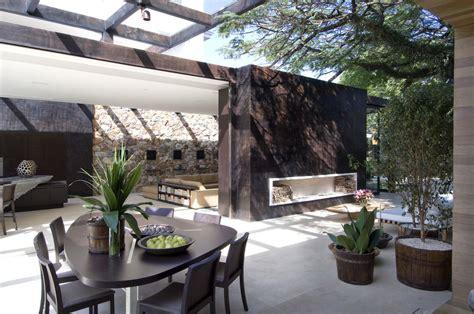 modern loft  outdoor indoor interior design ideas