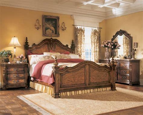 dormitorios con muebles de madera clasicos diseno casa