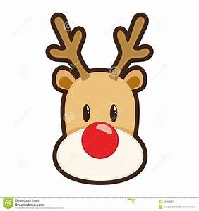 free clipart rudolph red nosed reindeer clipartxtras With rudolph the red nosed reindeer template