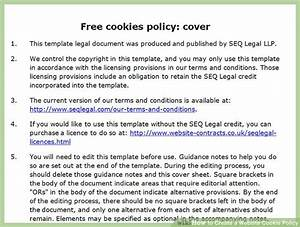 how to create a website cookie policy with sample cookie With cookie policy template