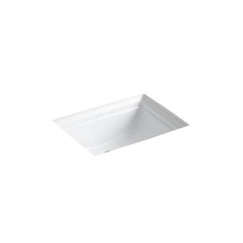 kohler memoirs white undermount bath sink kohler memoirs vitreous china undermount bathroom sink in