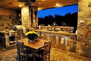 Outdoor Küche Gemauert : outdoor k che mit grill ausgestattet ~ Articles-book.com Haus und Dekorationen