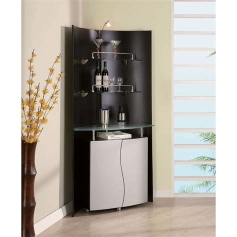 black corner bar cabinet dayane bar cabinet with display gotofurniture