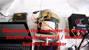 Curtis Dc Sepex Controller 1268-5403 Diagnostics