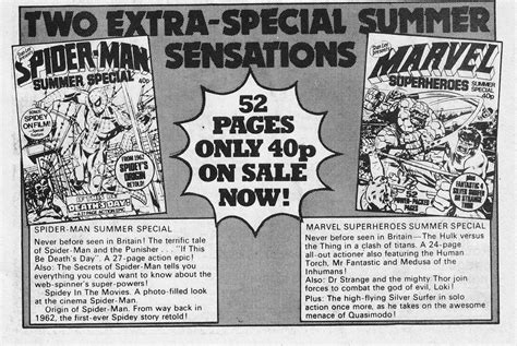 STARLOGGED - GEEK MEDIA AGAIN: 1979: MARVEL UK SUMMER ...