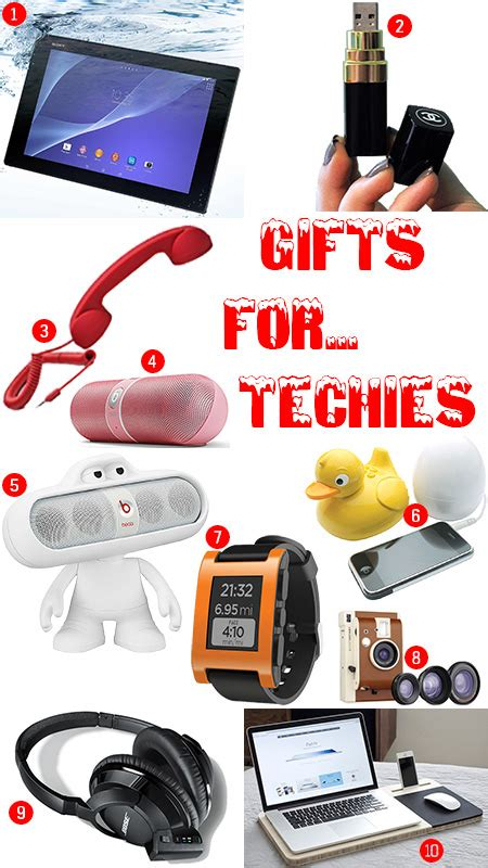 popular holiday gifts for techies gifts for techies h is for home harbinger