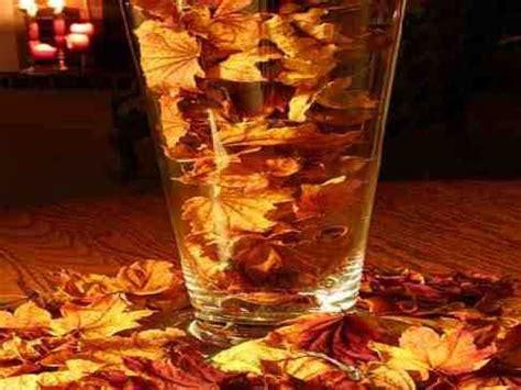 decoration crudites pour buffet d 233 coration de table pour mariage th 232 me automne vase avec feuilles id 233 e de centre de table ou